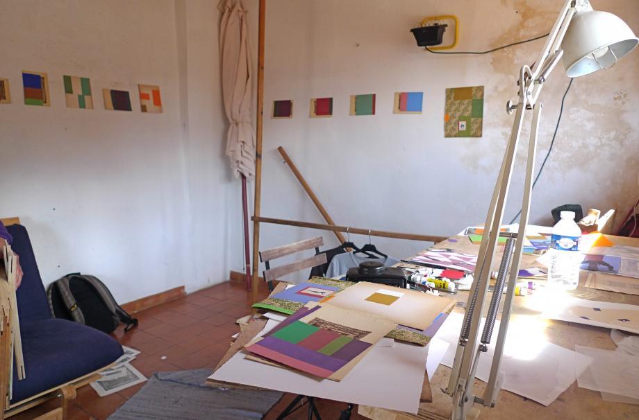 Arbejdsrummet i Fox Amphoux