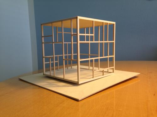 Model. Skulptur til Margrethe Reedtz skolen.