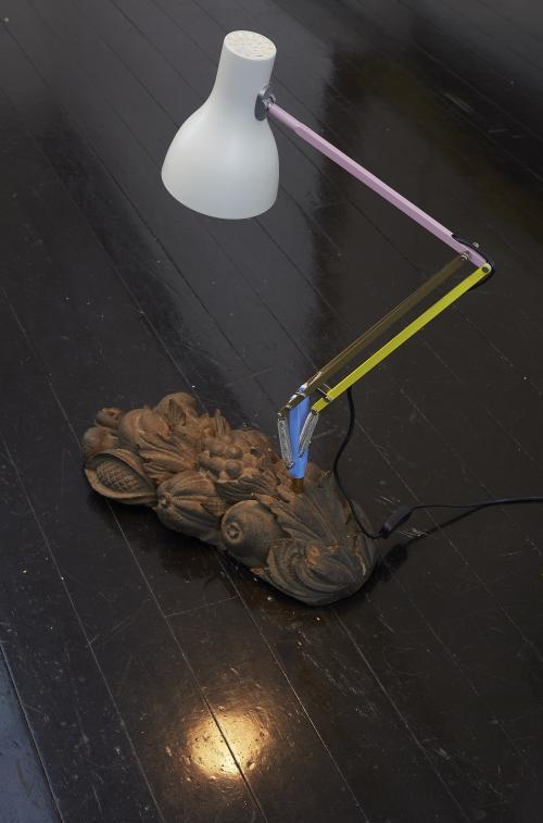 Barok billedskærerarbejde, Paul Smith lampe.