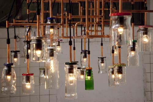 Lampe til San Cataldo, detalje.
