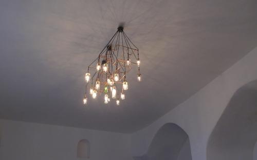 Lampe til Klosteret San Cataldo.
